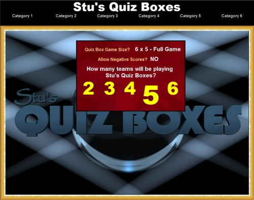 Stu's Quiz Boxes! | A Free Educational Game for Everybody